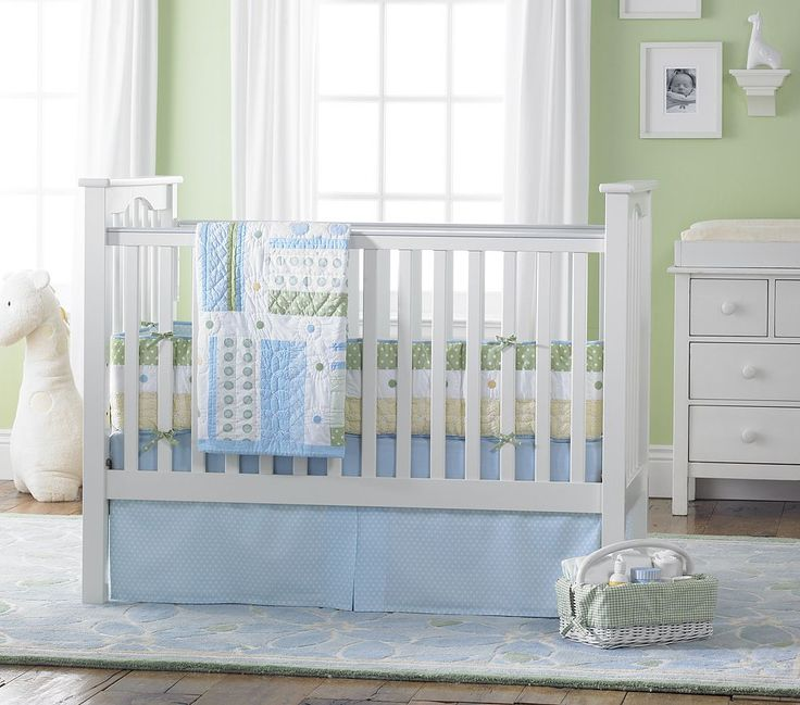 Green Boys Room: Elements Of A Green Baby Nursery